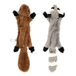 Pet Supplies Happypet® 3 PACK DEAL MIGRATORS SMALL DOG SQUEAKY PLUSH TOYS 22 CM TO 27 CM