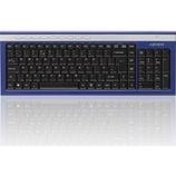81cf9c26659 advent Advent Akbwlbl15 Wireless Keyboard - Blue & Silver, ...