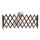 Small Dogs Gate Guard Net Julymall Dog Sliding Door Dog Gates Indoor Retractable Childrens Playpen Dog Sliding Door Dog Gate Pet Wooden Fence