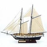 ARTOCT Wooden Sailboat Ship Kit Home DIY Model Decoration Boat Gifts Toy DIY Sailing Ship Model Train Model Kits for Kids Birthday Gift