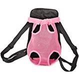 Pissente Waterproof Pet Car Seat Booster Pink Foldable Car Dog Carrier Bag Portable Travel Car Pet Carrier Bag with Adjustable Straps for Small Dogs Cats Puppies Travelling