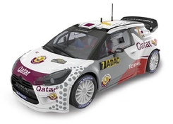 Elektrisches Spielzeug Capable Scalextric Citroen Ds3 Wrc #7 .attiyah-bernacchini Only In Sets.mint Unboxed