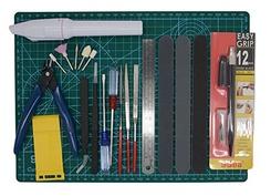 Model Building Tools D DOLITY Multi Shape Grinding Tools Set
