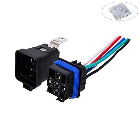 Best 12v Relay Socket   CarPartsGarage Dc Relay Socket Wiring on