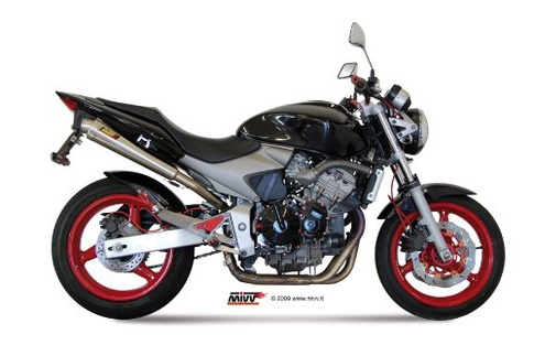 honda hornet 600 2004 mivv exhaust pipes x cone stainless steel classic